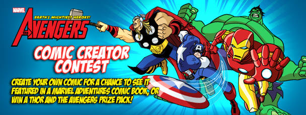 The Avengers: EMH! Comic Creator Contest