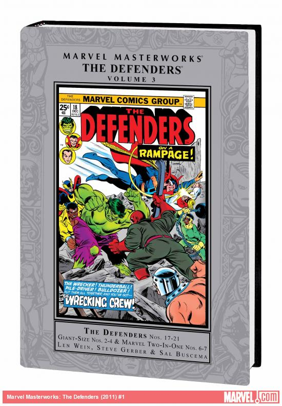 MARVEL MASTERWORKS: THE DEFENDERS VOL. 3 HC