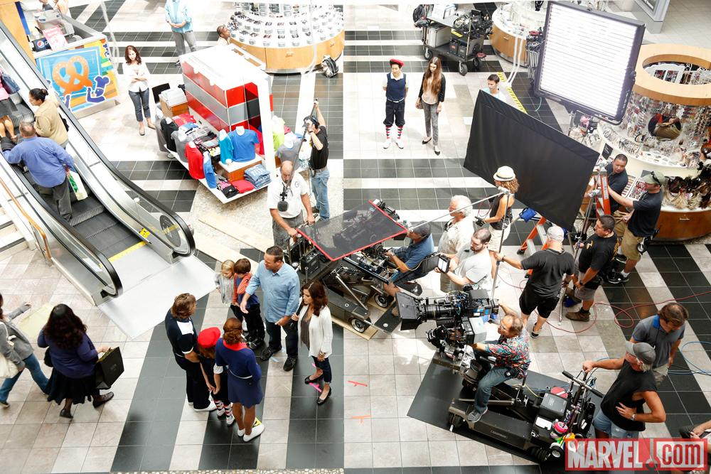 The Neighbors set (photo by ABC/Peter Stone)