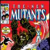 New Mutants (1983) #33 Cover
