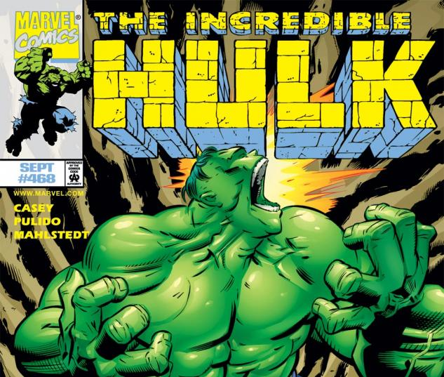 Incredible Hulk (1962) #468 Cover