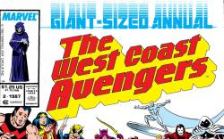 West Coast Avengers Annual (1986) #2 Cover