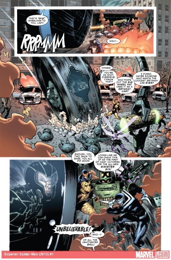 Superior Spider-Man #1 preview art by Ryan Stegman