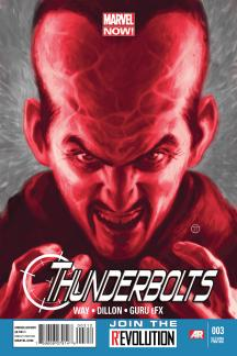 Thunderbolts (2012) #3 (2nd Printing Variant)