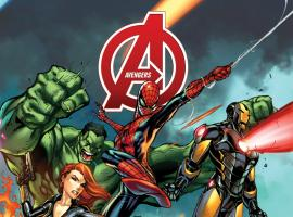 cover from Avengers (2012) #1 (MIDTOWN VARIANT)