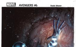 Avengers (2012) #6 cover by Dustin Weaver