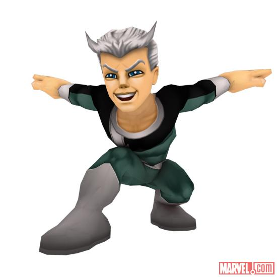Quicksilver from Super Hero Squad Online