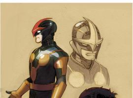 Nova sketches by Paco Medina