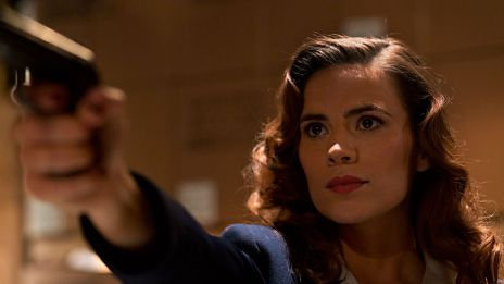 Hayley Atwell stars as Peggy Carter in Marvel One-Shot: Agent Carter