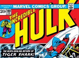 Incredible Hulk (1962) #160 Cover