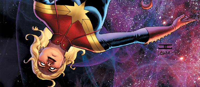 Take Flight with Captain Marvel