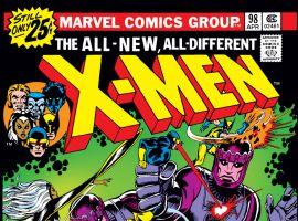 Uncanny X-Men (1963) #98 Cover