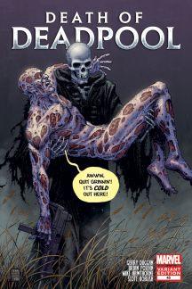 Deadpool #45  (Moore Death of Deadpool Variant)