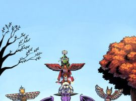 Image Featuring Redwing, Lockheed, Lockjaw, Pet Avengers
