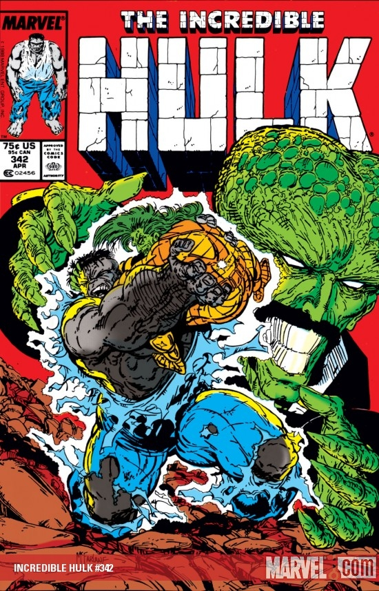 INCREDIBLE HULK (2009) #342 COVER