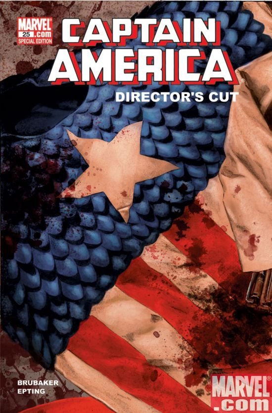 Captain America #25 Director's Cut