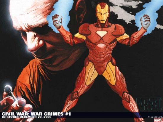 Civil War: War Crimes (2006) #1 Wallpaper