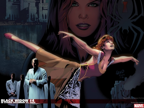 Black Widow (2004) #4 Wallpaper