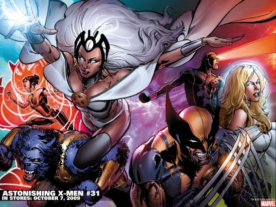 Astonishing X-Men (2004) #31 Wallpaper