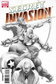 Secret Invasion (2008) #2 (Sketch Variant)