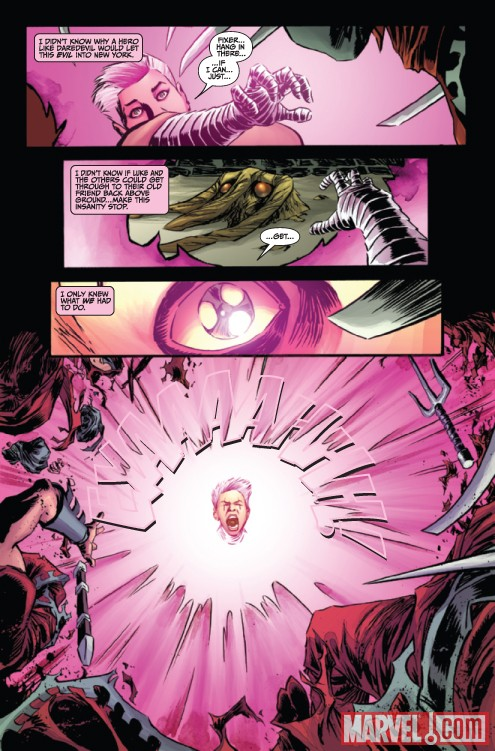 THUNDERBOLTS #149 preview page by Declan Shalvey