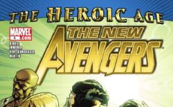 NEW AVENGERS #6 cover by Stuart Immonen