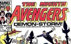 Avengers #249 cover