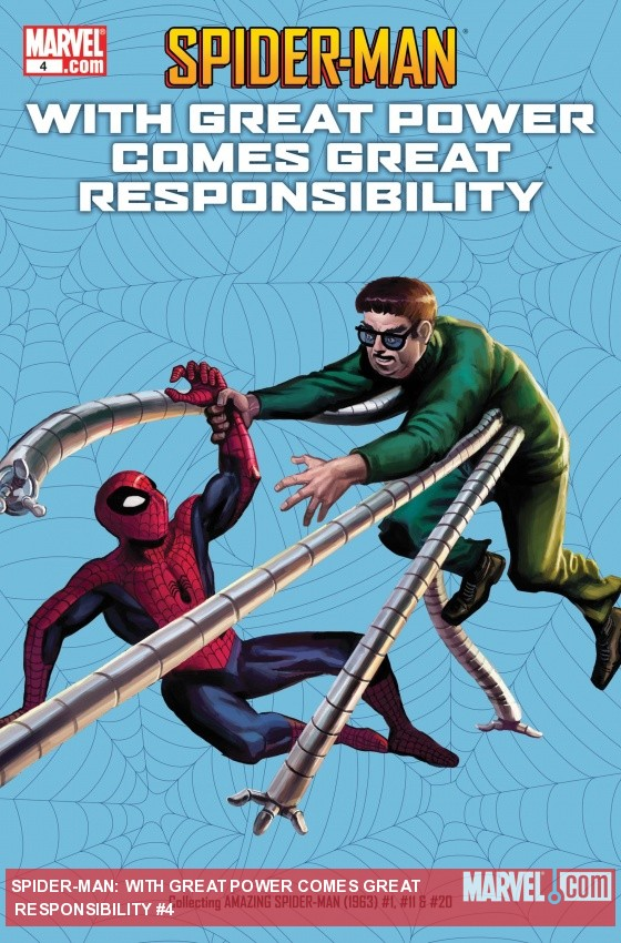 SPIDER-MAN: WITH GREAT POWER COMES GREAT RESPONSIBILITY #4 cover