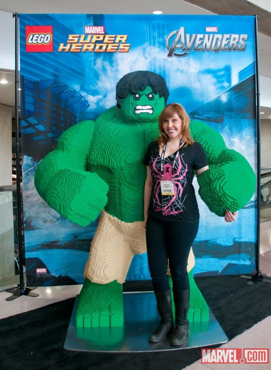 The Watcher's Lorraine Cink and the LEGO Hulk