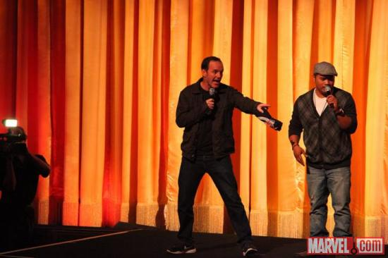 Clark Gregg (Phil Coulson) at El Capitan Theatre's midnight screening of Marvel's The Avengers