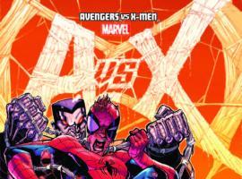 AVENGERS VS. X-MEN 9 STEGMAN VARIANT (1 FOR 100, WITH DIGITAL CODE)