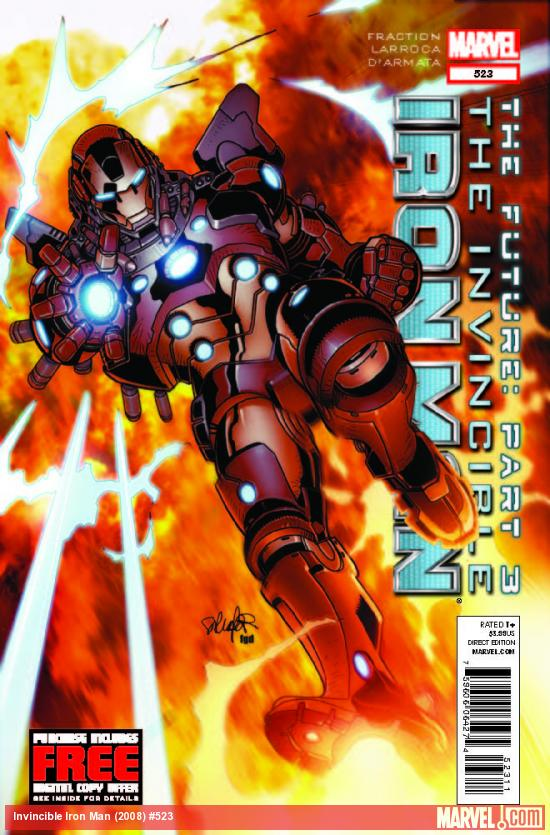 INVINCIBLE IRON MAN 523 (WITH DIGITAL CODE)