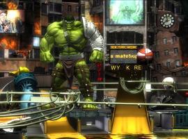 Screenshot of Marvel Pinball: World War Hulk on mobile devices