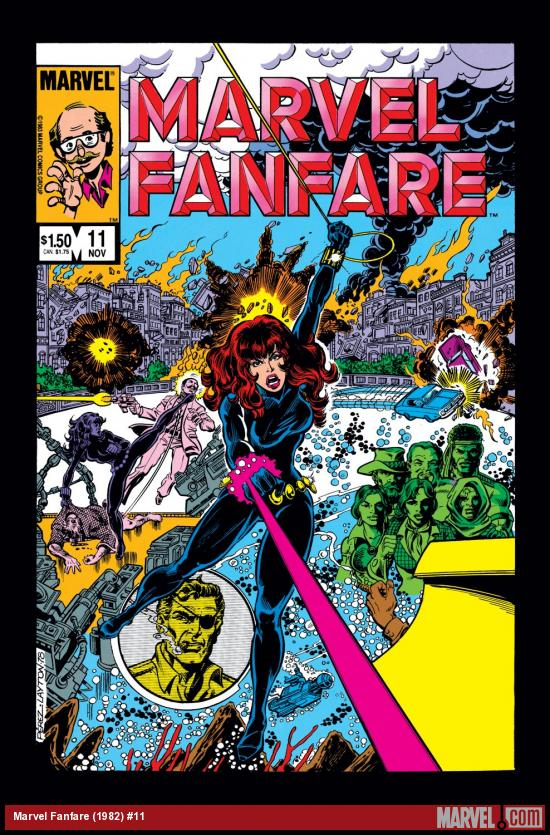 Marvel Fanfare (1982) #11 Cover