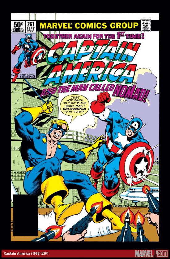 Captain America (1968) #261 Cover
