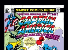 Captain America (1968) #261 Cover