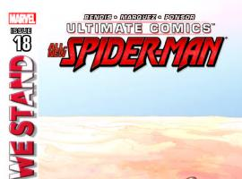 ULTIMATE COMICS SPIDER-MAN 18 (WITH DIGITAL CODE)