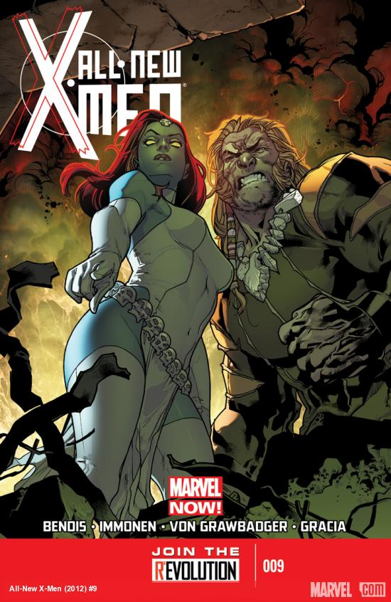 cover from All-New X-Men #9