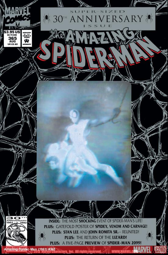 Amazing Spider-Man (1963) #365 Cover