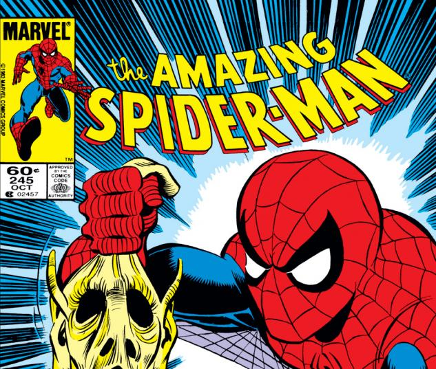 Amazing Spider-Man (1963) #245 Cover