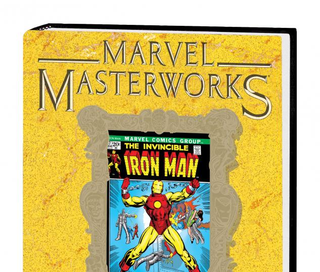 MARVEL MASTERWORKS: THE INVINCIBLE IRON MAN VOL. 8 HC VARIANT (DM ONLY)