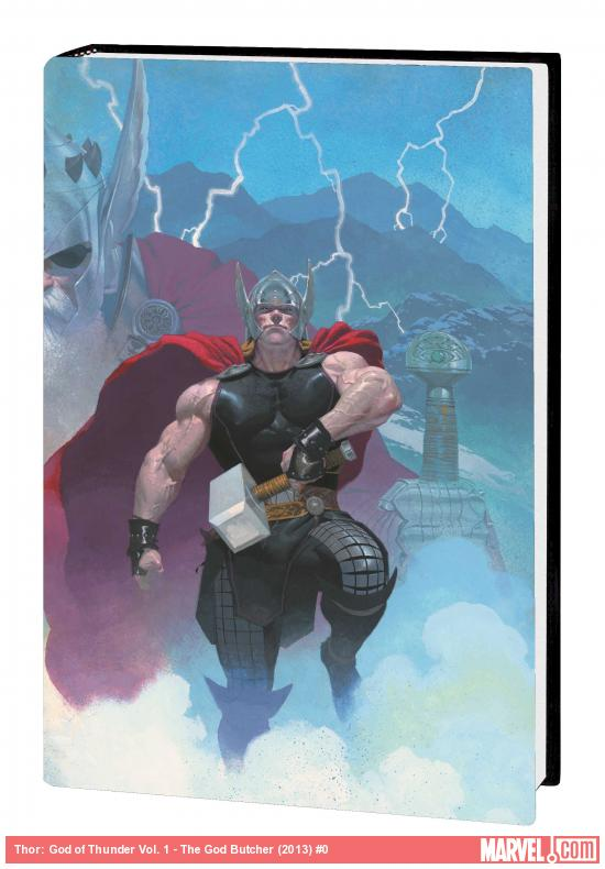THOR: GOD OF THUNDER VOL. 1 - THE GOD BUTCHER PREMIERE HC (MARVEL NOW, WITH DIGITAL CODE)