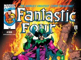 Fantastic Four (1998) #36 Cover