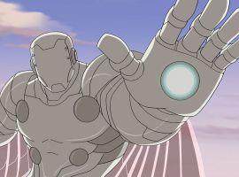 The Super Adaptoid attacks in Marvel's Avengers Assemble