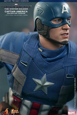 Golden Age Captain America Hot Toys Collectible