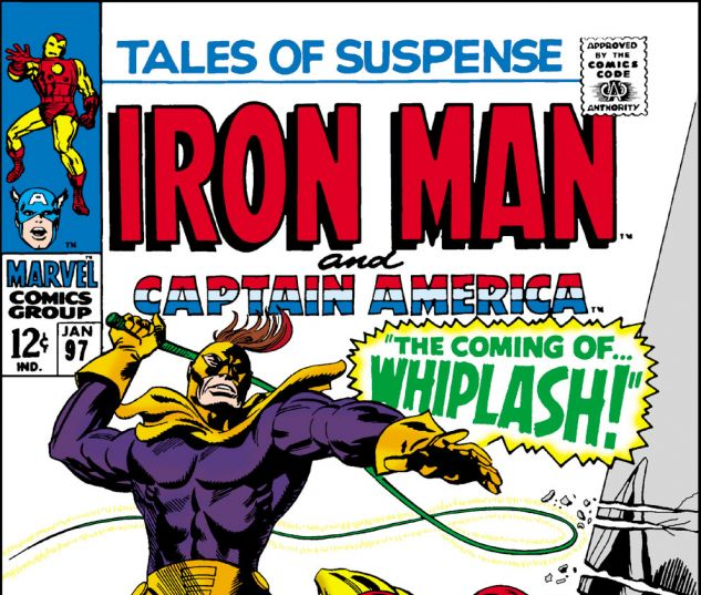 Tales of Suspense (1959) #97 Cover