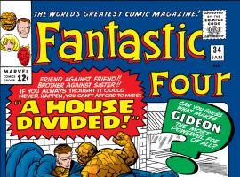 Fantastic Four (1961) #34 Cover