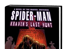 SPIDER-MAN: KRAVEN'S LAST HUNT PROSE NOVEL HC