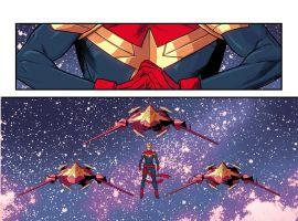 Captain Marvel #1 preview art by Kris Anka