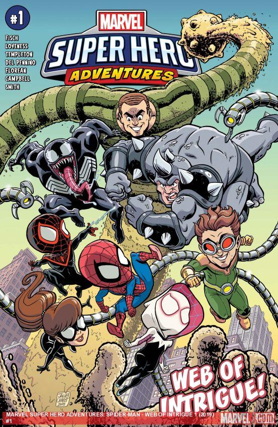 Marvel Super Hero Adventures: Spider-Man - Web of Intrigue (2019) #1